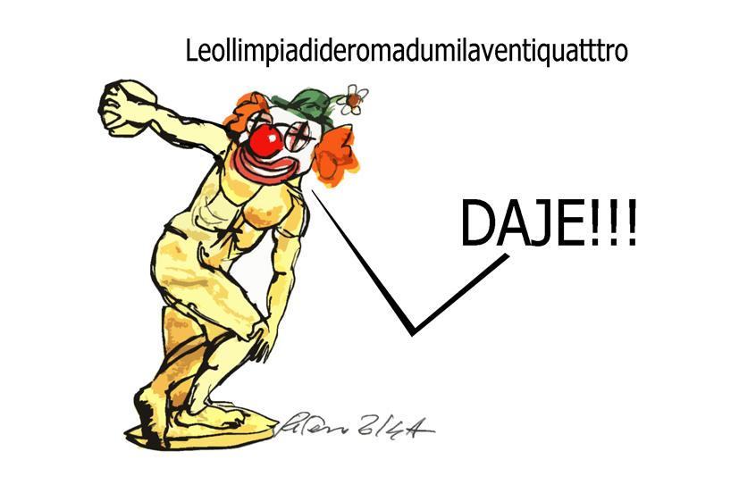 Prodi, i pagliacci e i talebani, l'umorismo graffiante di Tiziano Riverso