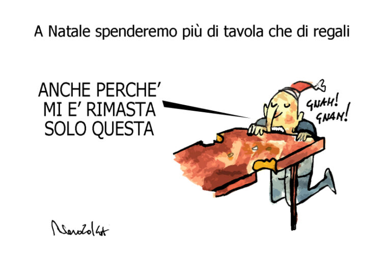 La tavola, i NoTav e la puttanoska, l'umorismo graffiante di Tiziano Riverso