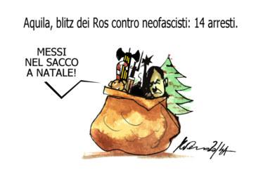 Il sacco, Babbo Natale e i nazisti dell'Illinois, l'umorismo graffiante di Tiziano Riverso