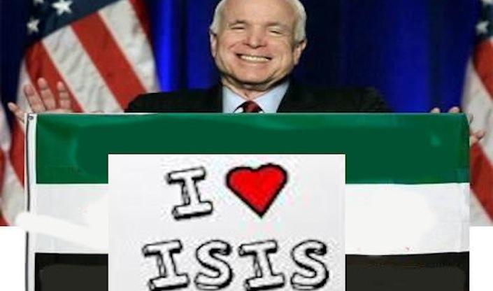 Il senatore Usa John McCain, considerato uomo ombra della politica estera statunitense.