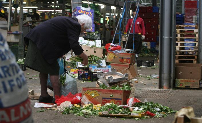 Al mercato di Val Melaina, Roma