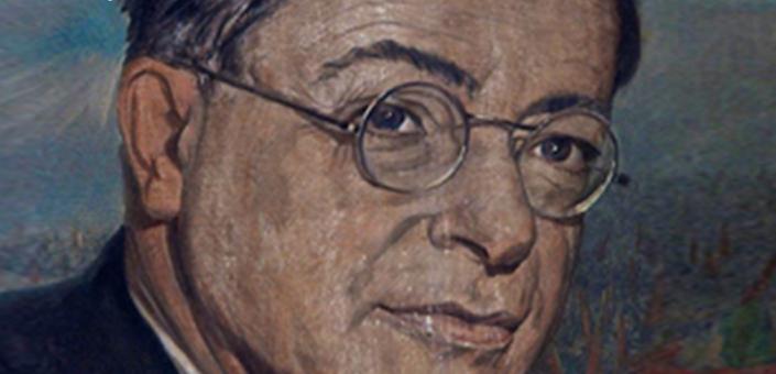 """Locandina della mostra """"Palmiro Togliatti, un padre della Costituzione"""""""