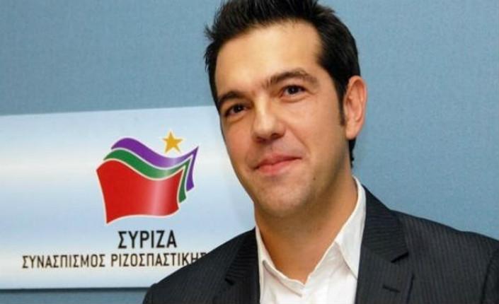 Alexis Tsipras, leader di Syriza in Grecia