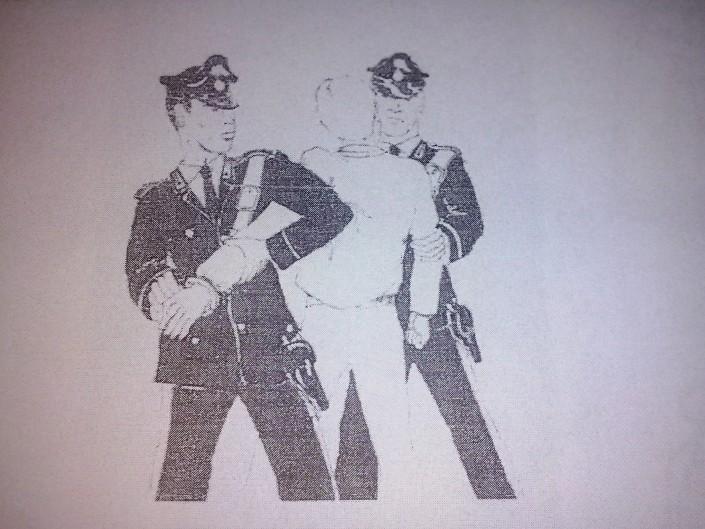 illustrazione dalle linee guida fornite ai carabinieri per interventi riguardanti soggetti in stato di agitazione psicofisica