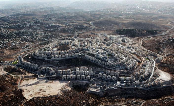 Colonia di Har Homa, tra Gerusalemme e Betlemme. Foto Yuval Nadel