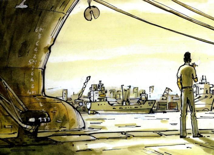 Clément Belin dalla versione a fumetti di Marinai perduti