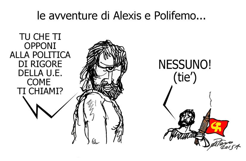 Erri De Luca, Nessuno e il Nazareno, l'umorismo graffiante di Tiziano Riverso