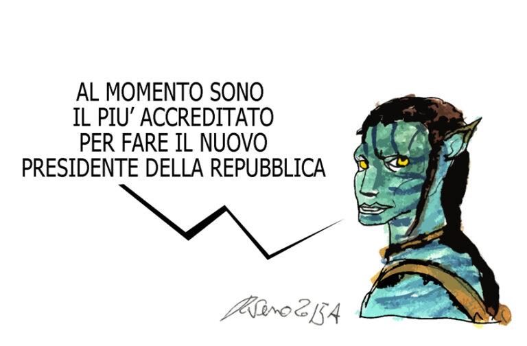 Ebola, il Presidente e l'avatar, l'umorismo graffiante di Tiziano Riverso