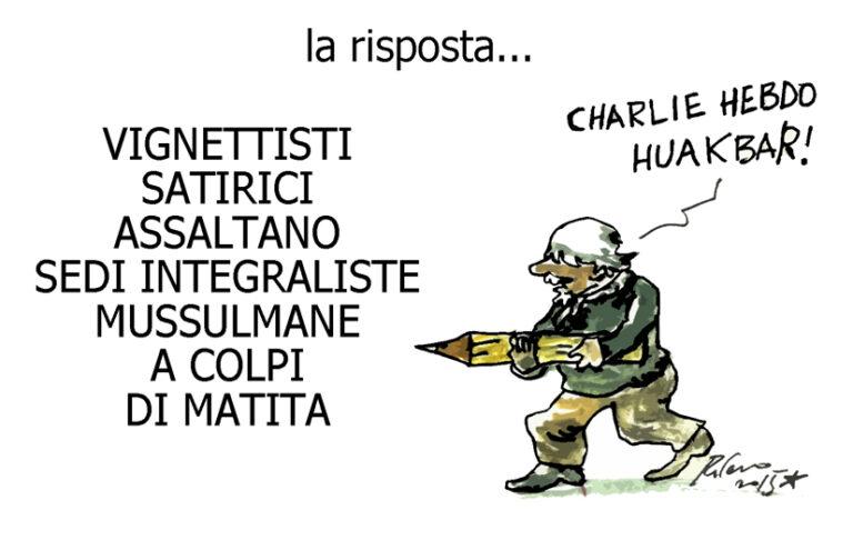 La satira, il culo e il funerale, l'umorismo graffiante di Tiziano Riverso