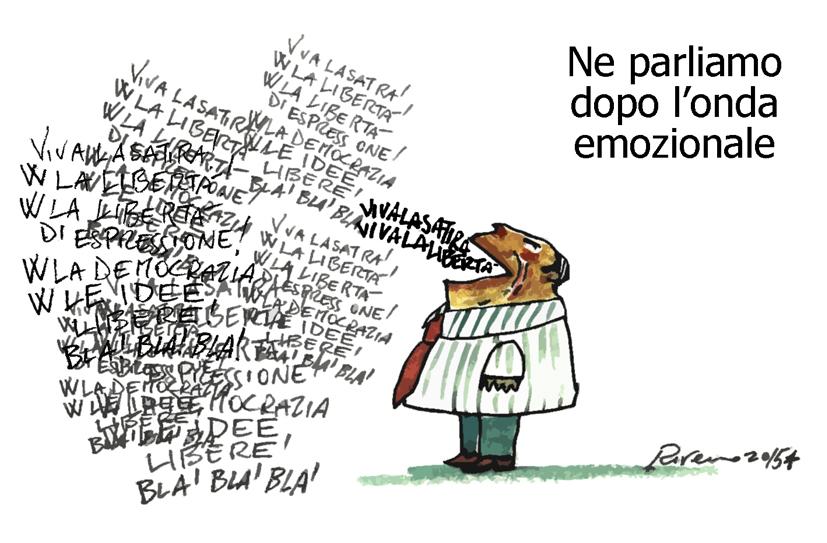 La satira, l'intolleranza e l'insegnante di sostegno, l'umorismo graffiante di Tiziano Riverso