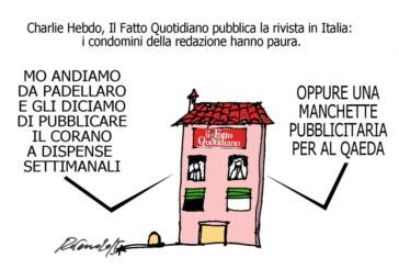 Maometto, i condomini e la censura, l'umorismo graffiante di Tiziano Riverso