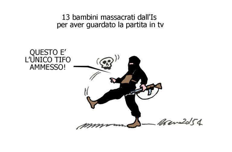 L'Isis, la merda e i conigli, l'umorismo graffiante di Tiziano Riverso
