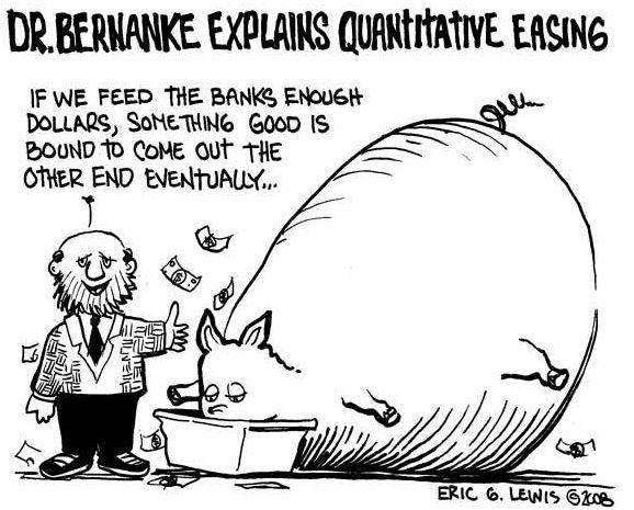 QE cartoon