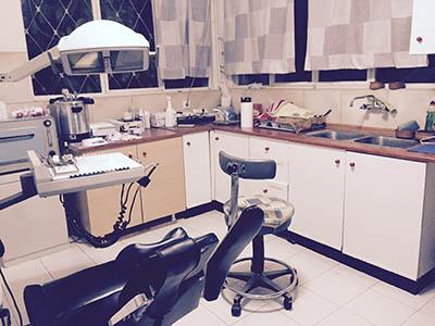 Ambulatorio sociale, la stanza del dentista