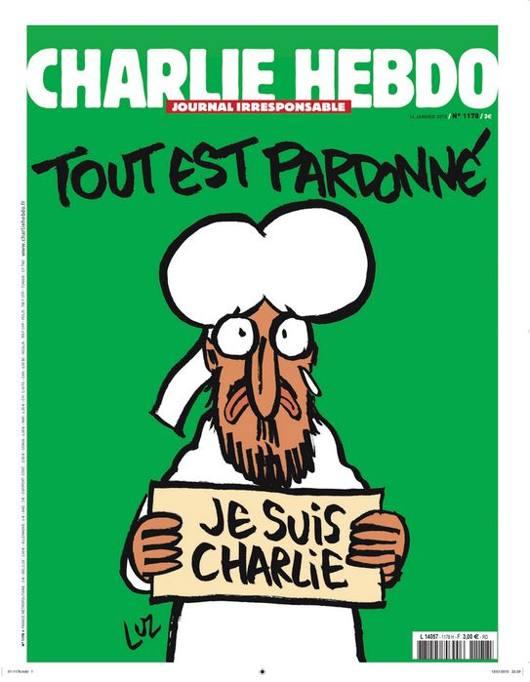 Maometto è Charlie, ma solo in copertina