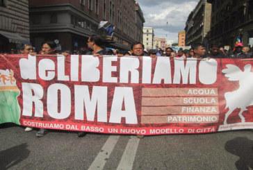 DeLiberiamo Roma irrompe in Assemblea capitolina