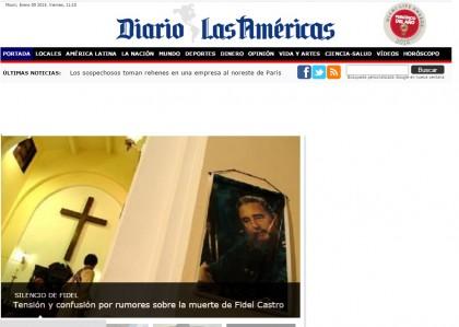 """""""Castro è morto"""". Ma la notizia viene da Miami"""