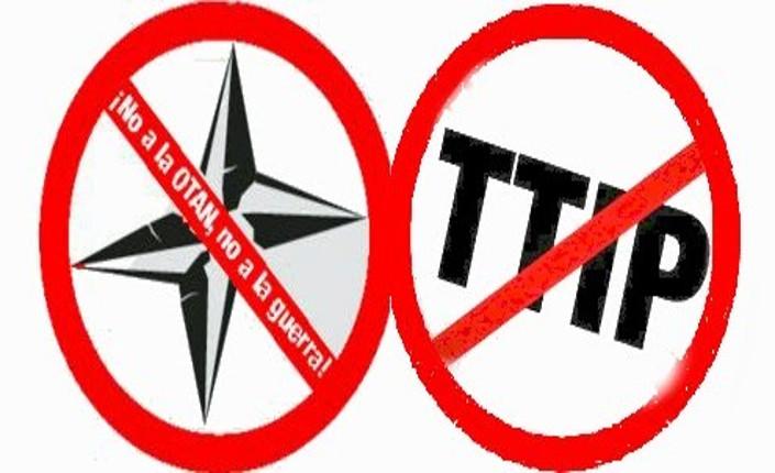 No NATO No guerra No TTIP