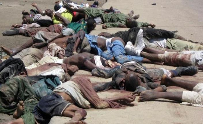 Vittime dell'attacco di Boko Haram a Baga