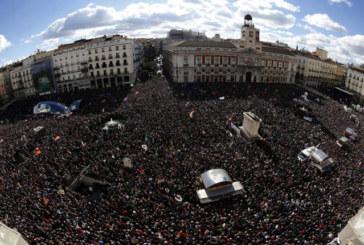 Madrid, 100 mila in piazza per il cambiamento