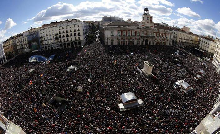 Puerta del Sol, 31 gennaio 2015