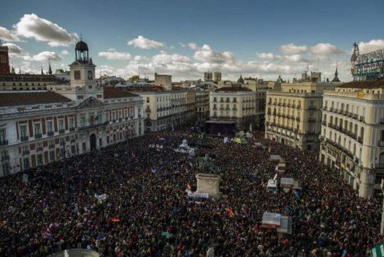06 panoramica Puerta del Sol, Madrid, 31 gennario 2015