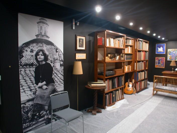 Elsa Morante, il suo studio rivive in Biblioteca Nazionale