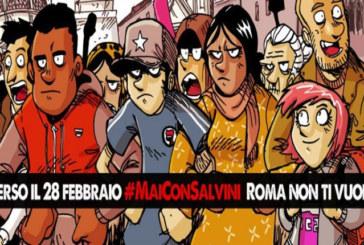 #MaiConSalvini! Oggi corteo a Roma