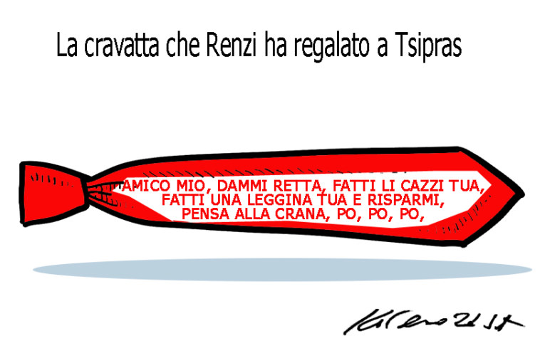 La bomba, la cravatta e la lupa spolpata, l'umorismo graffiante di Tiziano Riverso