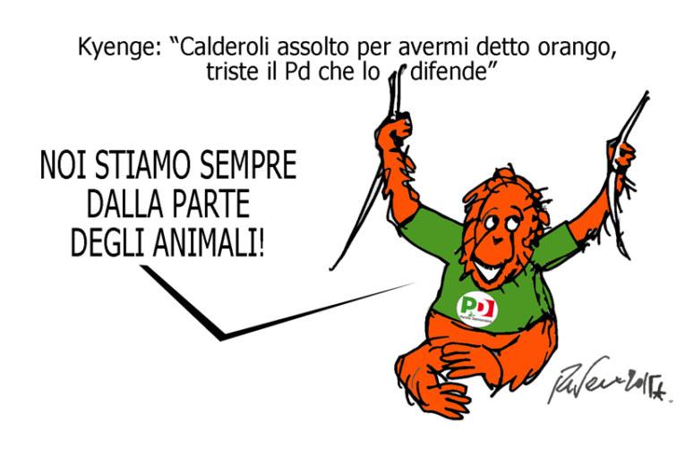 La vacca, l'orango e il pupazzo di neve, l'umorismo graffiante di Tiziano Riverso