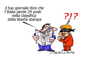 La Boschi, il cardinale e il parcheggio invalidi, l'umorismo graffiante di Tiziano Riverso