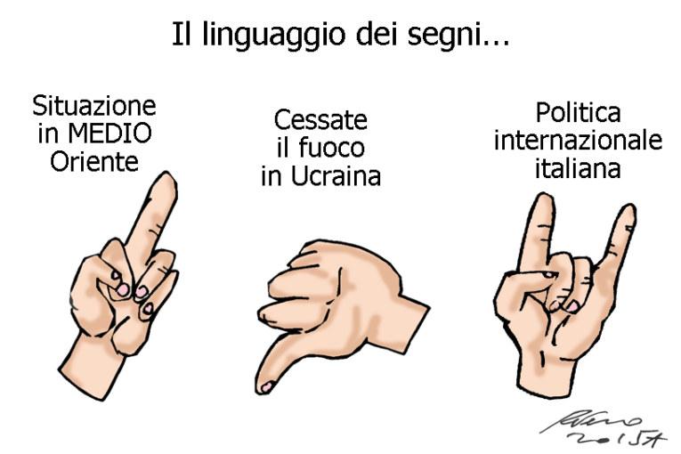L'Isis, la sinistra e la Sirenetta, l'umorismo graffiante di Tiziano Riverso