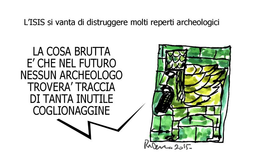 Pinocchio, il nazareno e zio Paperone, l'umorismo graffiante di Tiziano Riverso