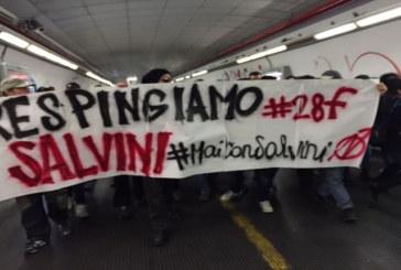 #Mai con Salvini: prime azioni a Roma