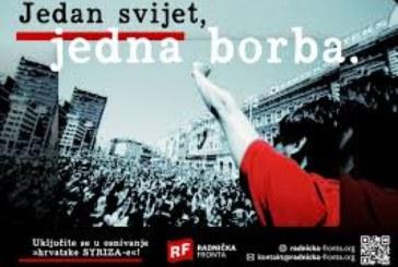 Effetto Tsipras in Croazia. Nasce Fronte dei lavoratori