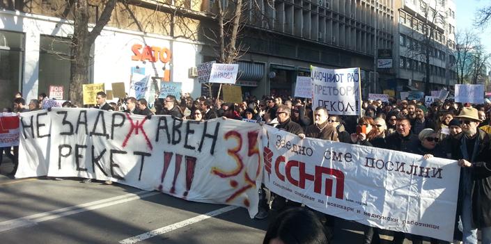Macedonia, scioperi e spionaggio. Scricchiola il governo nazionalista