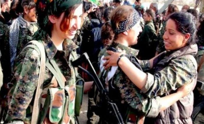 #8M a Roma, con le donne kurde