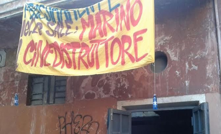 """""""Prossimamente nelle sale 'Marino, il cinedistruttore'"""" (Albix Foto)"""