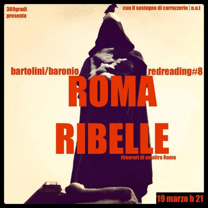 RedReading torna con Roma ribelle
