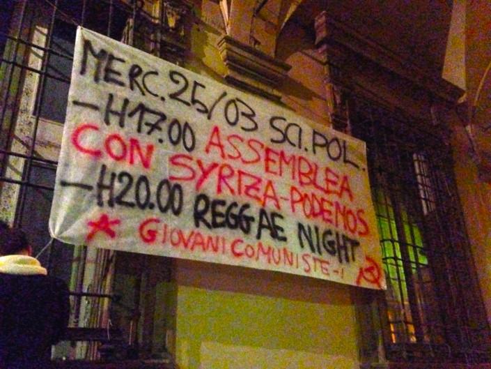 Bologna, l'Ateneo vieta l'incontro con Syriza e Podemos