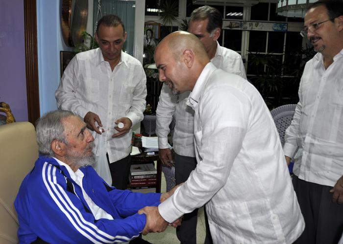 Fidel: «Il mio incontro con i Cinque Eroi»