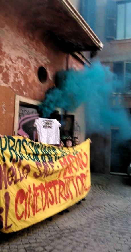occupazione cinema pasquino roma