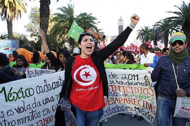 Tunisi: il forum in un paese che vuole restare normale