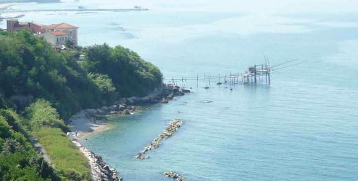 la costa teatina, uno dei territori che i mega elettrodotti stanno per devastare. per sempre
