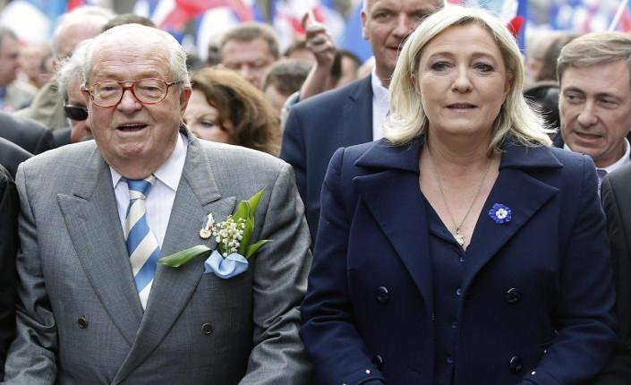 Le Pen Marine e Jean-Marie