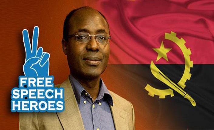 Il giornalista angolano Rafael Marques de Morais