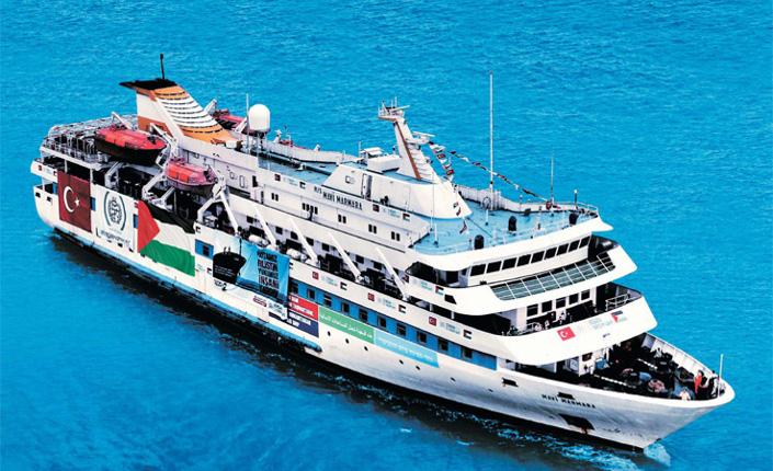 """La """"Mavi Marmara"""", Freedom Flotilla I"""