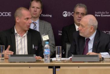 Liberté, égalité, fragilité. Dialogo Stiglitz-Varoufakis