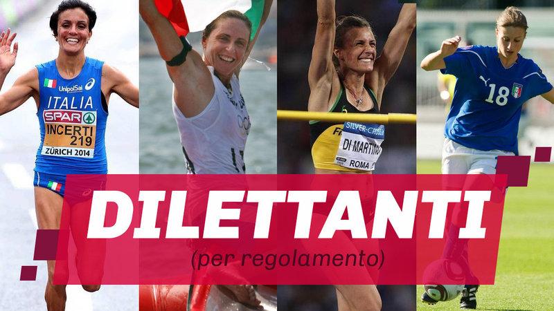 Sei donna e fai sport? In Italia puoi solo essere una dilettante