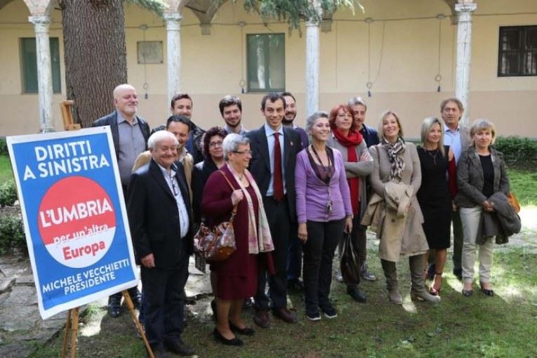 L'Umbria per un'altra Europa. La sinistra al voto